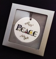 Salem Maydell Peace Ornament
