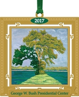 2017 Bush Center Christmas Ornament PREORDER