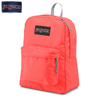 JanSport Superbreak Backpack Solid Tahitian Orange