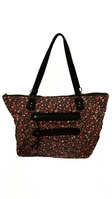 Ditsy Canvas Tote