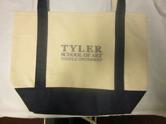 Temple Carolina Sewn Medium Canvas Tote