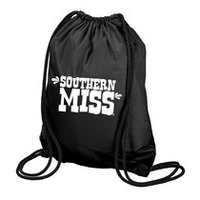 Southern Mississippi Eagles Carolina Sewn String Backpack