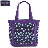 Ella Tote in Purple Night Mint Sylvia Dot