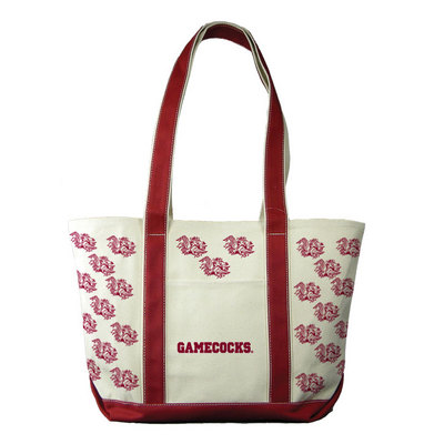 South Carolina Gamecocks Carolina Sewn Medium Canvas Tote