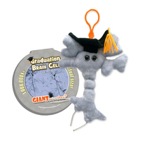 Graduation Brain Cell Keychain