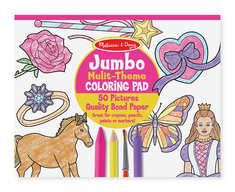 Melissa and Doug Jumbo Coloring Pad , Pink