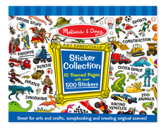 Melissa and Doug Sticker Collection , Blue