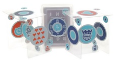 Kikkerland GLOW IN THE DARK PLAYING CARDS
