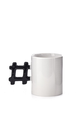 Kikkerland MORNING HASHTAG MUG