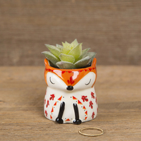 Natural Life Critter Succulent Fox