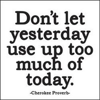 Dont let Yesterday Magnet