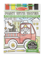 Melissa and Doug Paint with Water , Vehicles