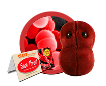 Sore Throat Giant Microbe