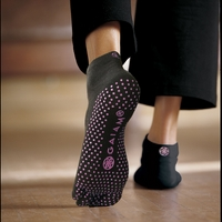Yoga Socks (SM  Pink Dots)