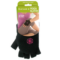Super Grippy Yoga Gloves (Pink Dots)