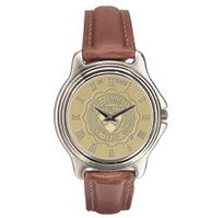 Penn Mens Wristwatch with Leather Strap