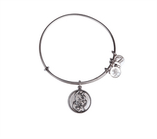 Alex and Ani Boston University Mascot Charm Bangle