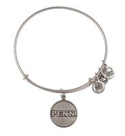 Alex and Ani University of Pennsylvania Logo Charm Bangle