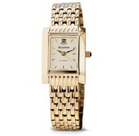 Penn Womens Gold Quad Watch with Bracelet by M.Lahart