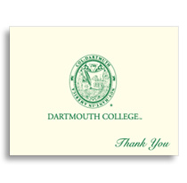 Thank You Cards Dartmouth Big Green by Overly