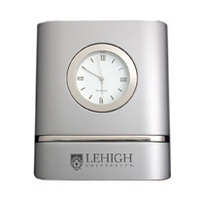 Lehigh Two Tone Desk Clock