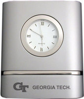 Georgia Tech Two Tone Desk Clock