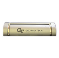 Georgia Tech Two Tone Business Card Holder