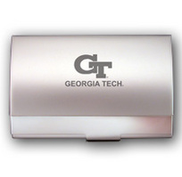 Georgia Tech Pocket Size Business Card Holder