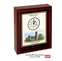 University of Chicago Desk Clock