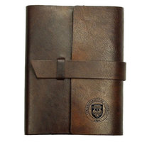 Tab Front Italian Leather Journal