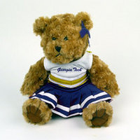 Georgia Tech MCM Cheerleader Bear