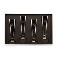 Set of 4 White Wine Glasses  Web Only