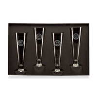 Set of 4 White Wine Glasses  in Gift Box Set (Online Only)
