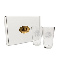 Set of Two 16 OZ Chelsea Micro Brew Pint Glasses