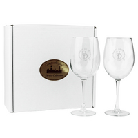 Set of 2 Red Wine Glass  19 oz  USA Made (Online Only)
