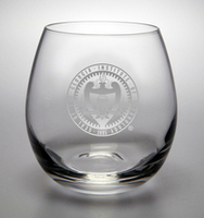 Georgia Tech Campus Crystal Stemless Wine Glass