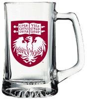 University of Chicago Glass Tankard