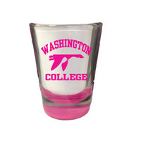 Colored Bottom Shot Glass