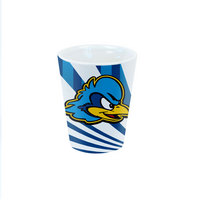 Delaware Blue Hens Color Max Shot Glass