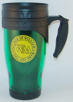 William and Mary Acrylic Travel Mug with Handle