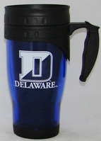 Delaware Blue Hens Acrylic Travel Mug with Handle