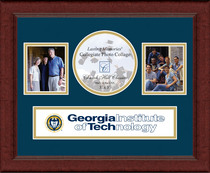 Georgia Tech Churchill Classics Banner Collage Frame