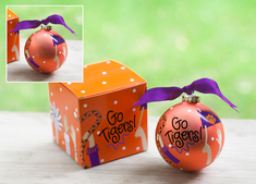 Clemson Crowd Cheer Ornament