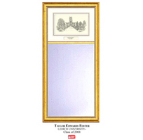 Lehigh Pen & Ink Wall Mirror
