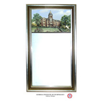 Georgia Tech Full Color Wall Mirror