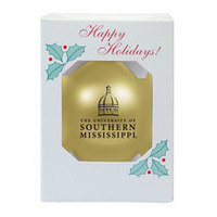 Southern Mississippi Eagles Shatterproof Ornament