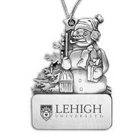Lehigh Snowman Shaped Ornament