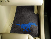 SMU Mustangs Two Piece Car Mat from Fanmats