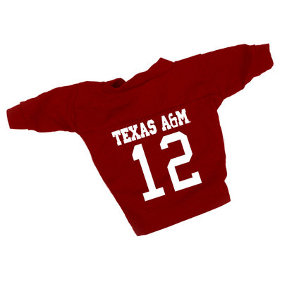 Texas A&M Aggies Dog Football Jersey
