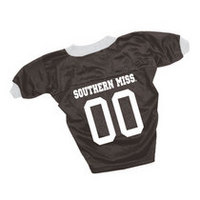 Southern Mississippi Eagles Dog Football Jersey